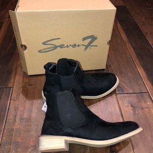 7 For All Mankind Shoes - Women's oak wood Chelsea 7 for all mankind boots